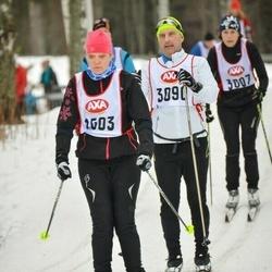 Skiing 45 km - Charlotta Johansson (1503)