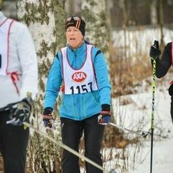 Skiing 45 km - Eva Dahl (1157)