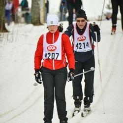 Skiing 45 km - Malin Timgren (4207)