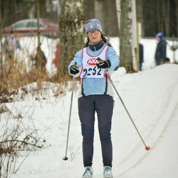 Skiing 45 km - Bodil Jansson (2232)