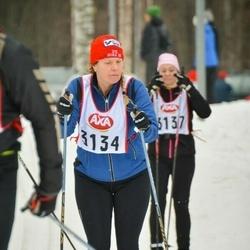 Skiing 45 km - Carina Eriksson (3134)