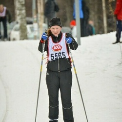 Skiing 45 km - Helena Christiansson (5565)