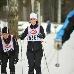 Skiing 45 km - Victoria Bodén (5351)
