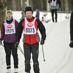 Skiing 45 km - Joel Edvinsson (5073)