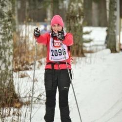Skiing 45 km - Erika Nyström (2096)