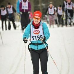 Skiing 45 km - Martha Hultman-Puke (3198)
