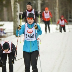 Skiing 45 km - Markus Ström (3450)