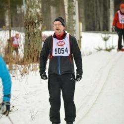 Skiing 45 km - Mark Huisman (5054)