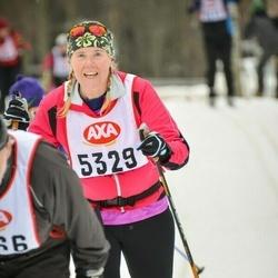 Skiing 45 km - Lena Sandh (5329)