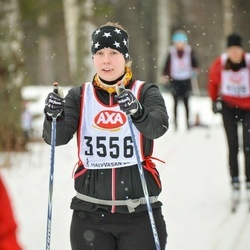 Skiing 45 km - Malin Grundin (3556)