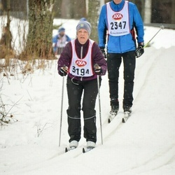 Skiing 45 km - Åsa Ingelgård (3194)