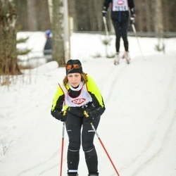 Skiing 45 km - Amanda Karlsson (3553)