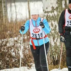 Skiing 45 km - Cathrin Eriksson (2616)