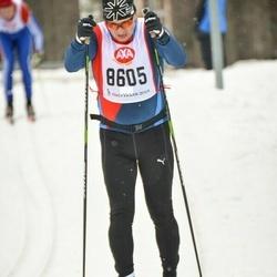 Skiing 45 km - Anders Svensson (8605)