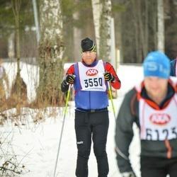 Skiing 45 km - Dennis Lindahl (3550)