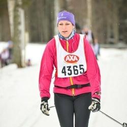 Skiing 45 km - Sara Frisk (4365)