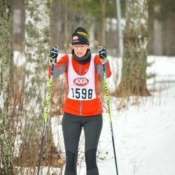 Skiing 45 km - Johanna Holmdahl (1598)