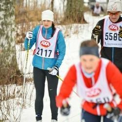 Skiing 45 km - Jessica Wikström (2117)