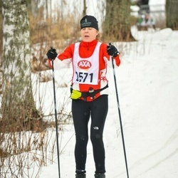 Skiing 45 km - Jeanette Pettersson (2571)