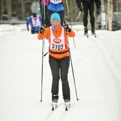 Skiing 45 km - Anna Bernhoff (3103)