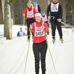 Skiing 45 km - Kristin Åkerström (3457)