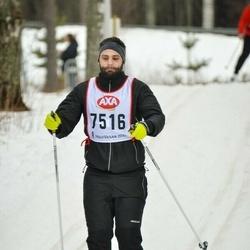 Skiing 45 km - Fredrik Holmer (7516)