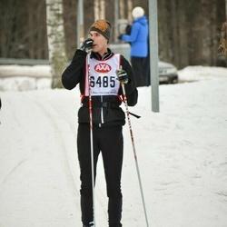 Skiing 45 km - Daniel Lundeqvist (6485)