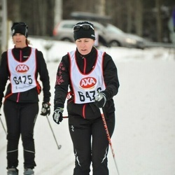 Skiing 45 km - Ulrika Petersson (6476)
