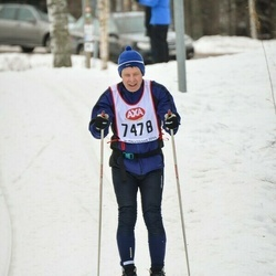 Skiing 45 km - Ingmar Milton (7478)