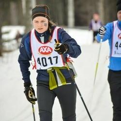 Skiing 45 km - Alexandra Sundgren (4017)