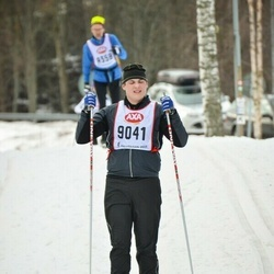 Skiing 45 km - Erik Backlund (9041)
