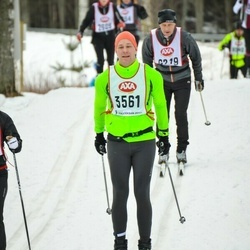 Skiing 45 km - Tonny Vildevall (3561)