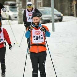 Skiing 45 km - Anton Johansson (5046)