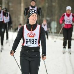 Skiing 45 km - Katarina Andersson (6498)