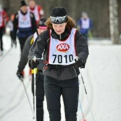 Skiing 45 km - Kristina Nyström (7010)
