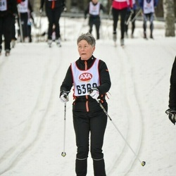 Skiing 45 km - Kerstin Carlsson (6368)