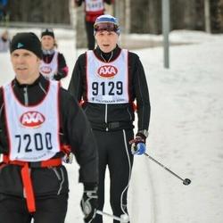 Skiing 45 km - Jonas Westerholm (9129)