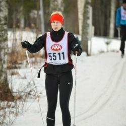 Skiing 45 km - Anna-Karin Fogelqvist (5511)