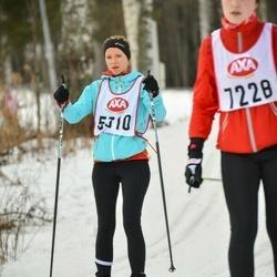 Skiing 45 km - Kathrin Saner (5310)