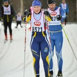 Skiing 45 km - Emilia Eriksson (8371)