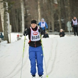 Skiing 45 km - Isabell Nyström (6500)