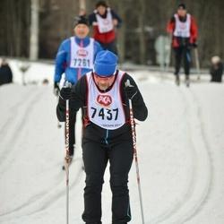 Skiing 45 km - Pekka Vähäkangas (7437)