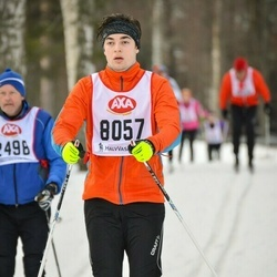 Skiing 45 km - Adrian Gerstädt (8057)