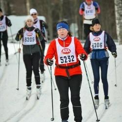 Skiing 45 km - Charlotte Carlqvist Moe (5232)