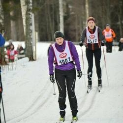 Skiing 45 km - Anita Lindberg (4087)