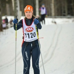 Skiing 45 km - Elisabeth Åkärbjär (7120)