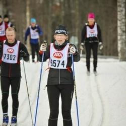 Skiing 45 km - Elisabeth Sjöström (6574)
