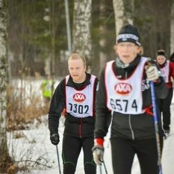 Skiing 45 km - Mikael Olsson (7302)