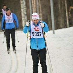 Skiing 45 km - Thomas Jönsson (9032)