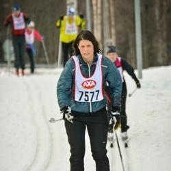Skiing 45 km - Karin Lundell (7577)